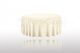 Tablecloth-Ivory-Round