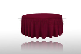 Tablecloth-burgundy
