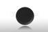 Тарелка для холодных закусок, фарфор Black Volcano 21 см