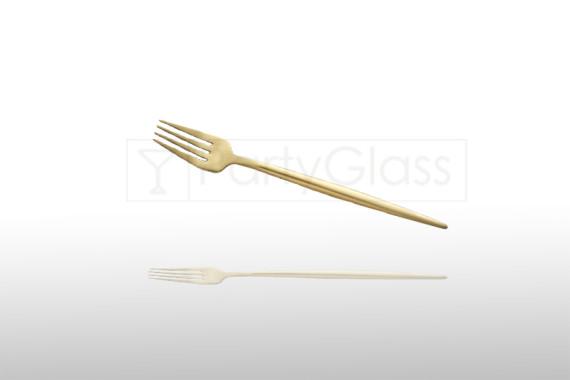 Dessert fork Gold Leon