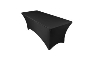 Tablecloth streich black