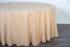 Скатерть «Премиум» круглая 3,3 м, цвет песочный Арт 006