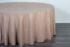 Скатерть «Премиум» круглая 3,3 м, цвет кремовый Арт 008