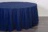 Скатерть «Премиум» круглая 3,3 м, цвет синий Арт 035